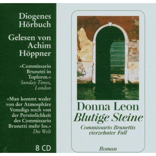 Donna Leon - Blutige Steine. 8 CDs - Preis vom 21.10.2020 04:49:09 h