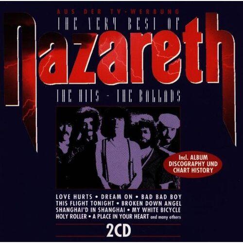 Nazareth - The Very Best of Nazareth [DOPPEL-CD] - Preis vom 20.10.2020 04:55:35 h