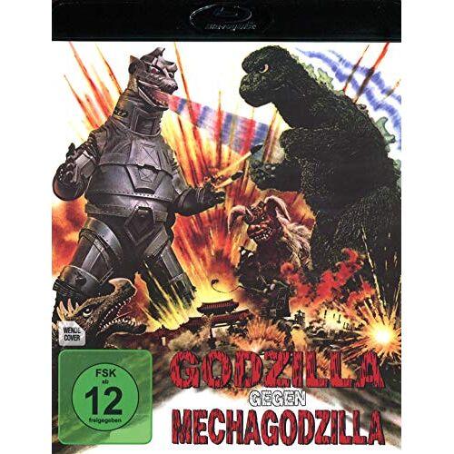 Jun Fukuda - Godzilla gegen Mechagodzilla [Blu-ray] - Preis vom 20.10.2020 04:55:35 h