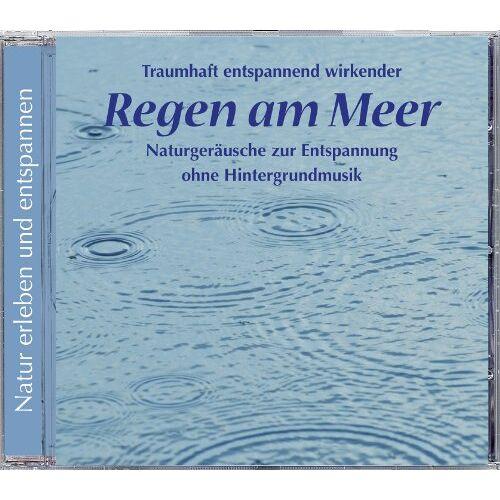 Naturgeräusche - Regen am Meer (553), Naturgeräusche ohne Hintergrundmusik, Enspannung, Regen, Meer - Preis vom 15.04.2021 04:51:42 h