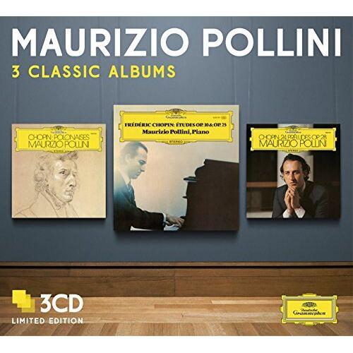 Maurizio Pollini - Pollini-3 Classic Albums - Preis vom 23.02.2021 06:05:19 h