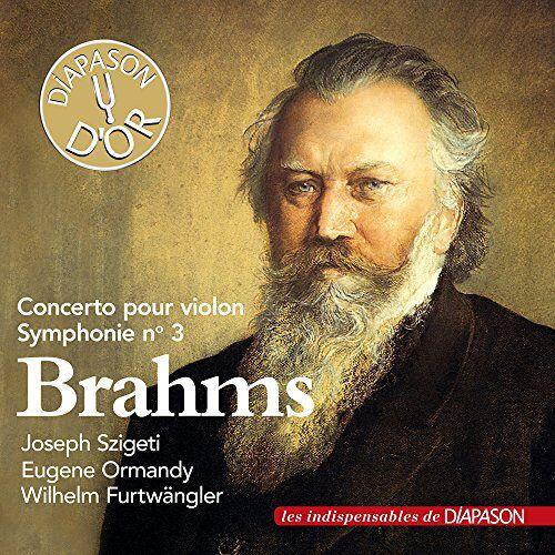 violon Joseph Szigeti - Brahms : Concerto pour violon, Symphonie n° 3. Sigeti, Ormandy, Furwängler. - Preis vom 18.04.2021 04:52:10 h