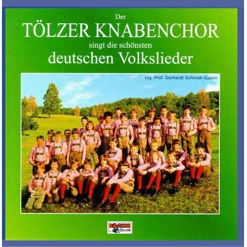 Tölzer Knabenchor - Der Tölzer Knabenchor singt die schönsten Deutschen Volkslieder - Preis vom 20.10.2020 04:55:35 h