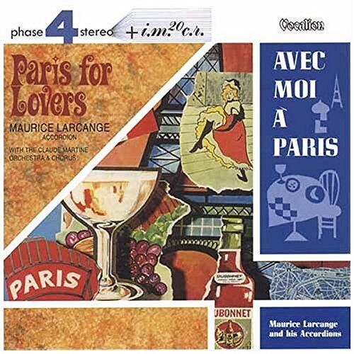 Maurice Larcange - Paris for Lovers/avec Moi a Paris - Preis vom 03.05.2021 04:57:00 h