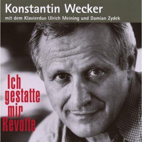 Konstantin Wecker - Ich gestatte mir Revolte - Preis vom 20.10.2020 04:55:35 h
