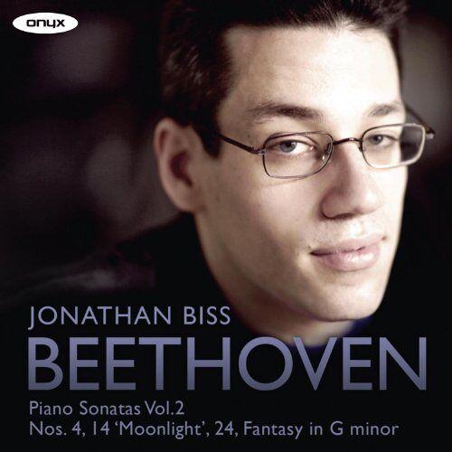 Jonathan Biss - Beethoven: Klaviersonaten Vol.2 - Sonate Nr.4 Op.7 / Sonate Nr.14 Op.27 Nr.2 (Mondschein) - Preis vom 18.04.2021 04:52:10 h