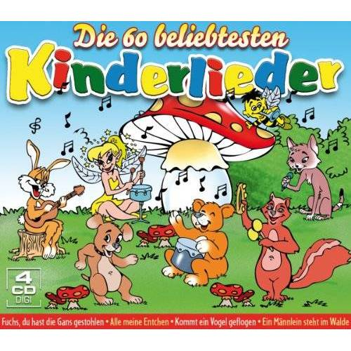 Various - 60 Beliebtesten Kinderlieder - Preis vom 24.02.2021 06:00:20 h