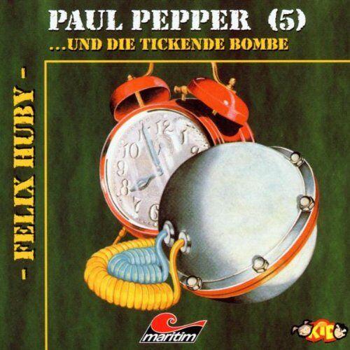 Felix Huby - Paul Pepper 05-Tickende Bombe - Preis vom 12.04.2021 04:50:28 h