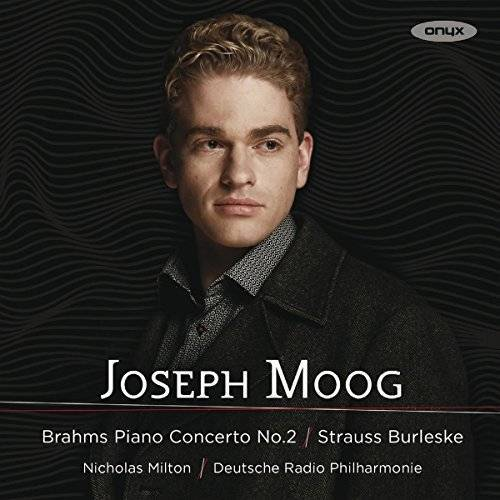 Joseph Moog - Strauss/Brahms: Burleske für Klavier & Orchester / Klavierkonzert Nr. 2 - Preis vom 20.10.2020 04:55:35 h