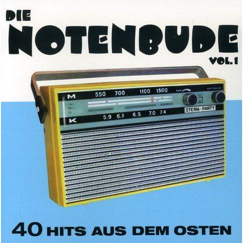 Various - Die Notenbude Vol.1 - 40 Hits aus dem Osten - Preis vom 20.10.2020 04:55:35 h