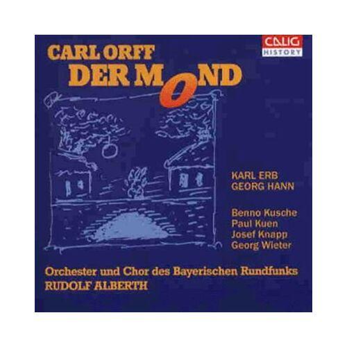 Carl Orff - Orff: Der Mond (Gesamtaufnahme) (Aufnahme 1950) - Preis vom 14.04.2021 04:53:30 h