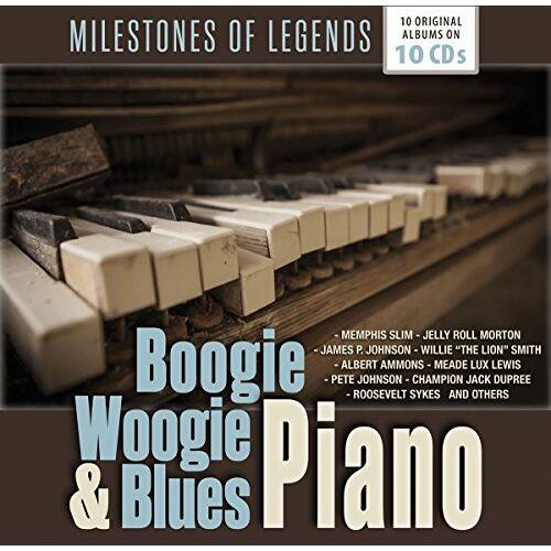 Various - Boogie Woogie & Blues Piano - Preis vom 24.02.2021 06:00:20 h