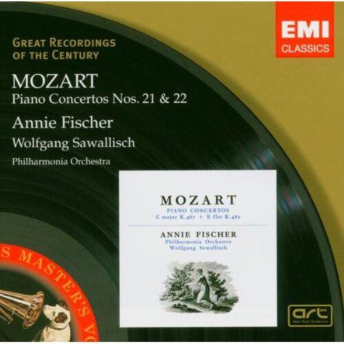 Annie Fischer - Mozart - Piano Concertos Nos. 21 & 22 (Klavierkonzerte) / A. Fischer · PO · Sawallisch - Preis vom 20.10.2020 04:55:35 h
