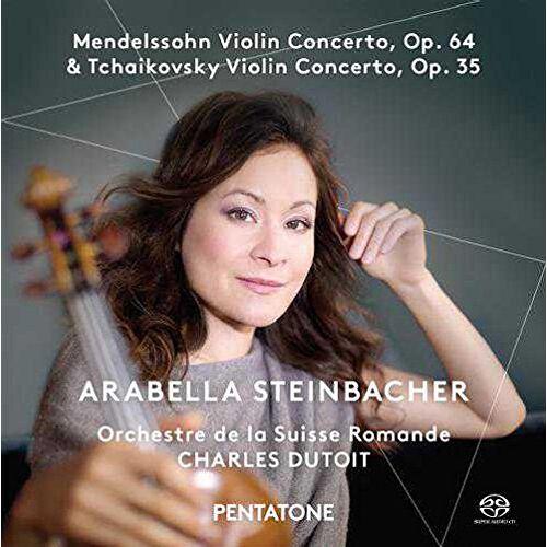 Arabella Steinbacher - Violinkonzerte - Preis vom 19.01.2021 06:03:31 h