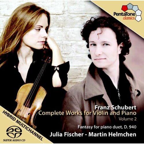 Julia Fischer - Werke für Violine und Klavier Vol.2 - Preis vom 21.01.2021 06:07:38 h