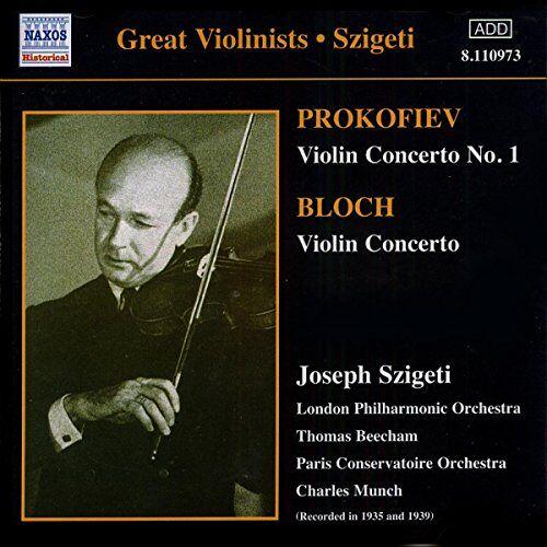 Szigeti - Violinkonzerte - Preis vom 20.10.2020 04:55:35 h