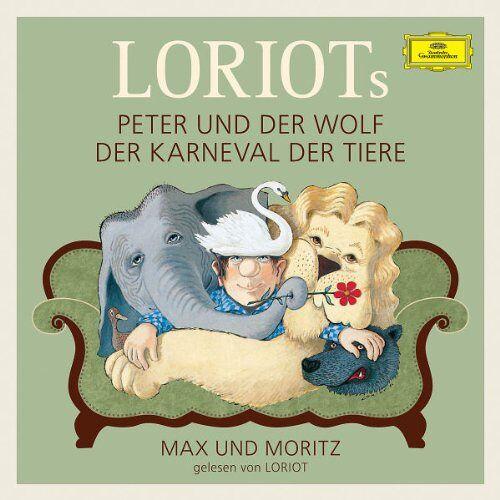 Loriot - Loriots Peter und der Wolf (Deluxe Edt.) - Preis vom 28.02.2021 06:03:40 h