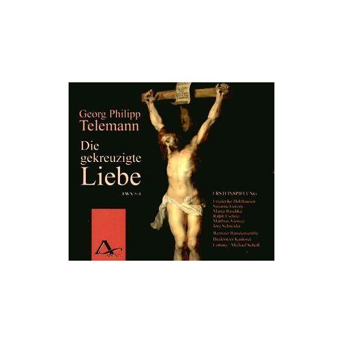 Holzhausen - Die Gekreuzigte Liebe,Twv 5:4 - Preis vom 20.02.2020 05:58:33 h