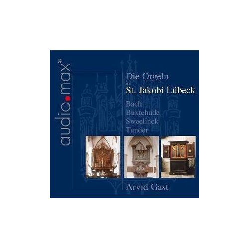 Arvid Gast - Die Orgeln in St.Jakobi Lübeck - Preis vom 06.05.2021 04:54:26 h