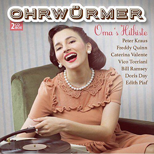 Freddy Quinn - Ohrwürmer - Omas Hitkiste - Preis vom 26.01.2021 06:11:22 h