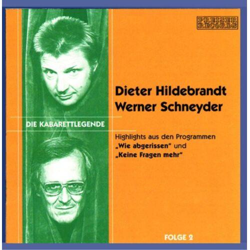 Dieter Hildebrandt - Kabarettlegende - Wie abgerissen - Keine Fragen mehr - Preis vom 11.05.2021 04:49:30 h