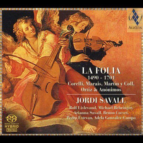 Jordi Savall - La Folia - Preis vom 20.10.2020 04:55:35 h