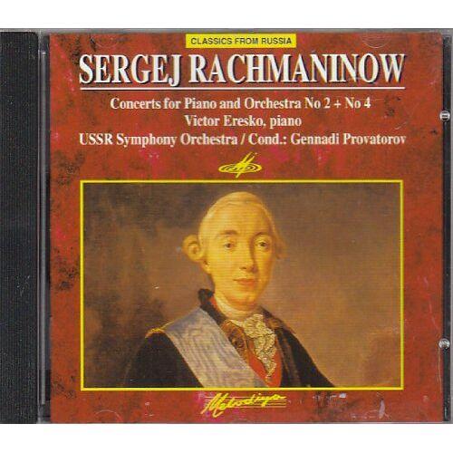 Eresko - Klavierkonz.2+4/Lieder F.Klav. - Preis vom 26.02.2021 06:01:53 h