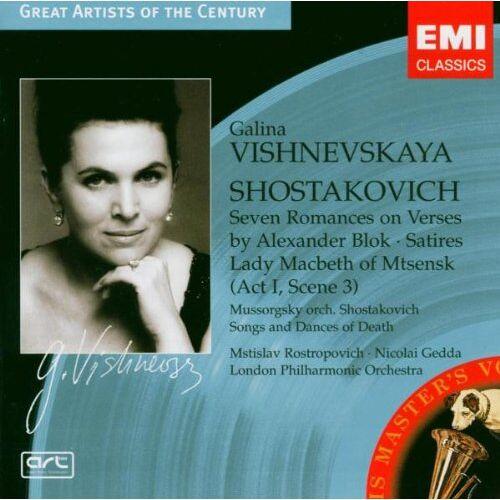 Galina Vishnevskaya - Opern-& Liedercital - Preis vom 14.01.2021 05:56:14 h