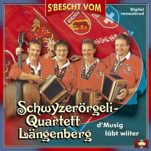 Schwyzerörgeli-Quartett Längenberg - S Bescht Vom Sq Längenberg-d - Preis vom 26.02.2021 06:01:53 h