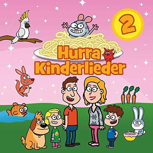 Hurra Kinderlieder - Hurra Kinderlieder 2 - Preis vom 16.01.2021 06:04:45 h