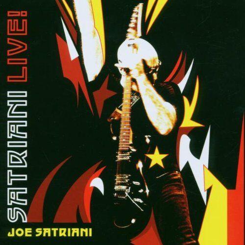 Joe Satriani - Satriani Live - Preis vom 23.02.2021 06:05:19 h