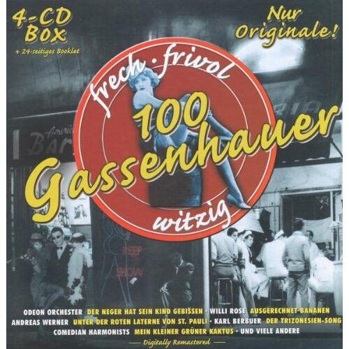 Various - 100 Gassenhauer - Preis vom 25.01.2021 05:57:21 h