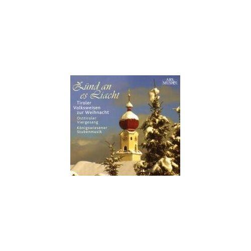 Osttiroler Viergesang - Zünd An Es Liacht - Preis vom 26.01.2021 06:11:22 h