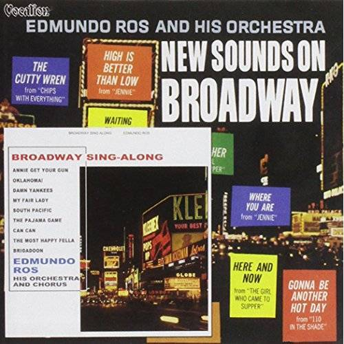 Edmundo Ros - New Sounds on Broadway, Broadway Sing-Al - Preis vom 28.02.2021 06:03:40 h