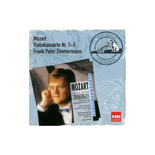 F.P. Zimmermann - Violinkonzerte 1-5 - Preis vom 09.04.2021 04:50:04 h