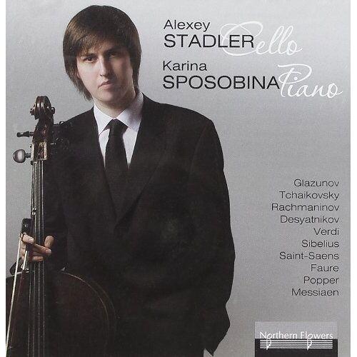 Alexey Stadler - Werke für Cello & Klavier russischer Komponisten - Works for Cello and Piano - Preis vom 11.05.2021 04:49:30 h