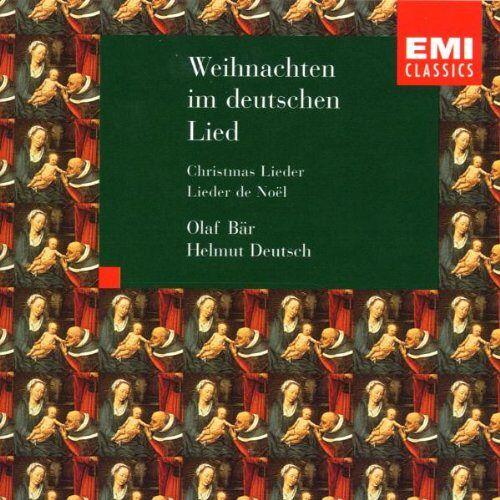Olaf Bär - Weihnachtslieder - Preis vom 19.01.2021 06:03:31 h