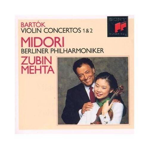 Midori - Violinkonzerte 1 und 2 - Preis vom 22.01.2021 05:57:24 h