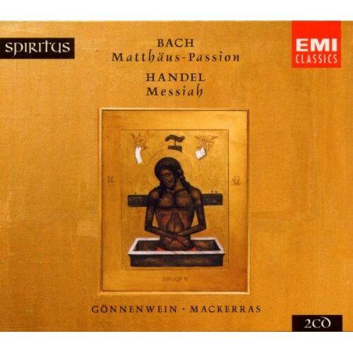 G?Nnenwein - Spiritus - Bach / Händel - Preis vom 26.02.2021 06:01:53 h