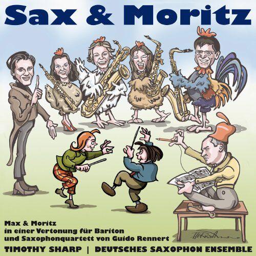 Sharp - Rennert: Sax und Moritz - Preis vom 18.10.2020 04:52:00 h