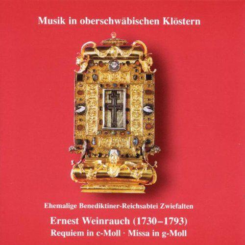Ernest Weinrauch - Musik in oberschwäbischen Klöstern - Zwiefalten - Preis vom 05.09.2020 04:49:05 h