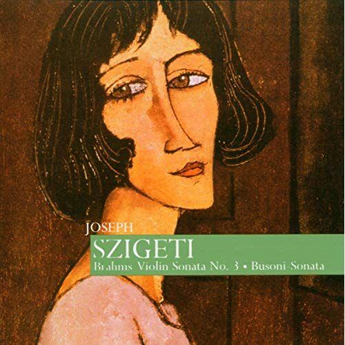 Joseph Szigeti - Sonate für Violine und Klavier Nr.2 E-Moll & Nr.3 d-Moll - Preis vom 20.10.2020 04:55:35 h