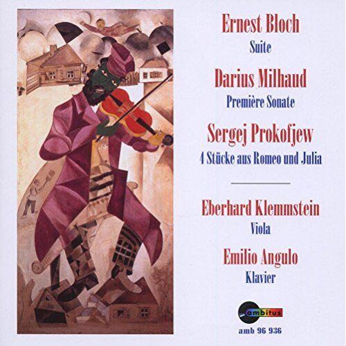 Eberhard Klemmstein - Viola und Klavier - Preis vom 20.10.2020 04:55:35 h