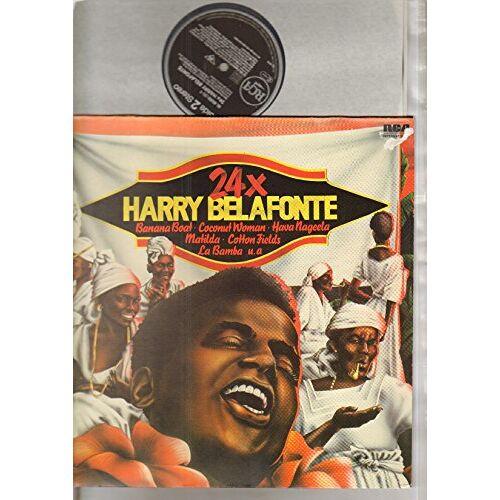 Harry Belafonte - 24 x Harry Belafonte - Preis vom 04.10.2020 04:46:22 h