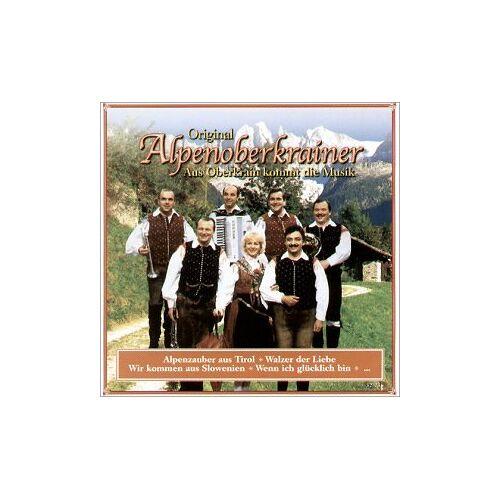 Original Alpenoberkrainer - Aus Oberkrain Kommt die Musik - Preis vom 23.02.2021 06:05:19 h