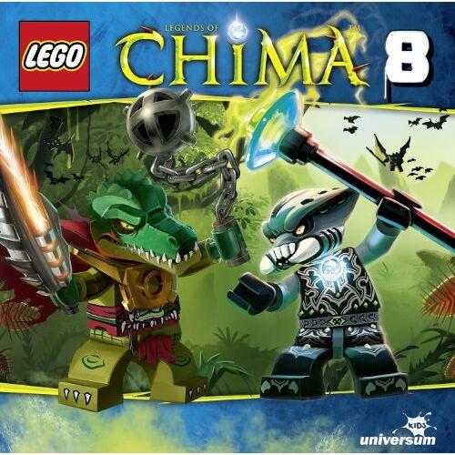 Lego Legends of Chima - Lego Legends of Chima (Hörspiel 08) - Preis vom 25.02.2020 06:03:23 h