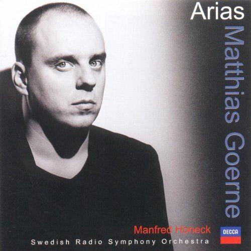 Matthias Goerne - Matthias Goerne:Arias - Preis vom 05.09.2020 04:49:05 h