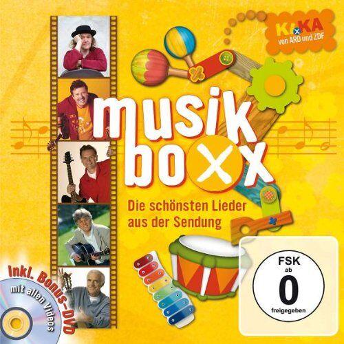 Various - Ki.Ka Musikboxx-die Besten Lieder (CD+Dvd) - Preis vom 06.07.2020 05:02:03 h