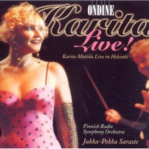 Karita Mattila - Karita Mattila: Karita Live - Preis vom 22.01.2021 05:57:24 h
