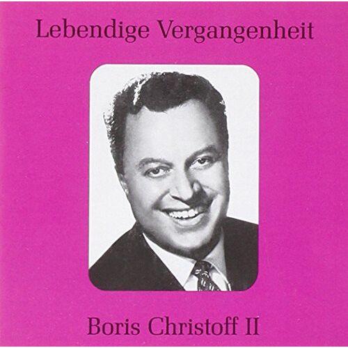 Boris Christoff - Boris Christoff II - Preis vom 28.02.2021 06:03:40 h
